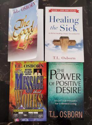 Some T.L Osborn books for consumption!